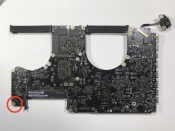 "MacBook Pro 17"", A1297, Mid 2010, MC024LL/A, Board#820-2849-A"